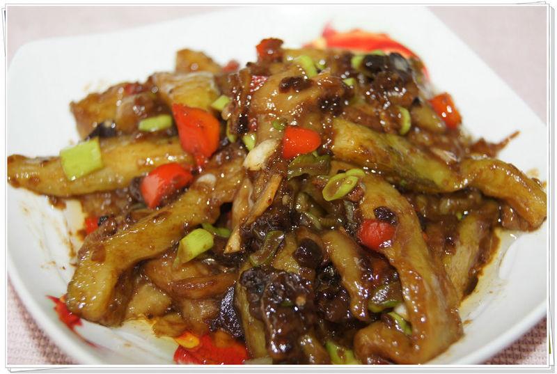鱼香茄子的做法 鱼香茄子怎么做好吃 我爱娜豆豆分享的鱼...