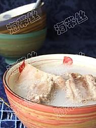榴莲瓤炖排骨