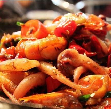香辣鱿鱼虾的做法_香辣鱿鱼虾怎么做好吃【图文】