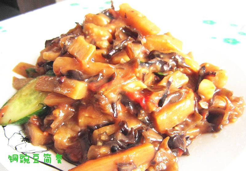 鱼香茄子的做法 鱼香茄子怎么做好吃 铜豌豆简餐分享的鱼...