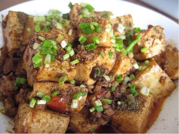 麻婆豆腐的做法 麻婆豆腐怎么做好吃 maggie分享的麻婆豆...