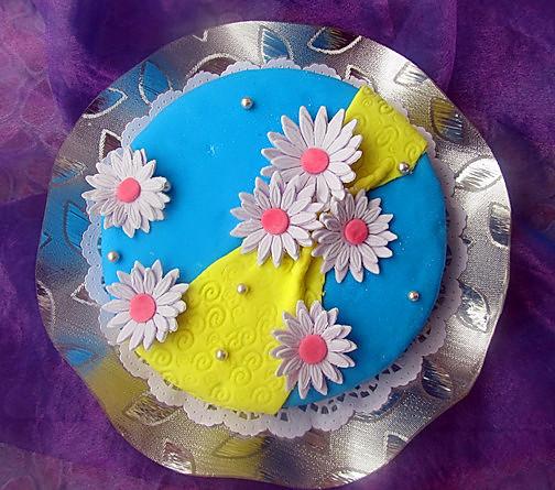 翻糖蛋糕---欢乐之歌