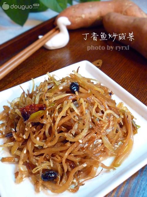 丁香鱼炒咸菜