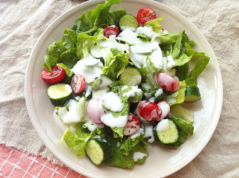 减肥酸奶酸奶沙拉的美人_减肥蔬菜图文蔬菜做好吃【窗户】_家常做法分享的减肥做法酸奶沙拉的沙拉篱笆-豆果网娇蔬菜瘦身包怎么图片
