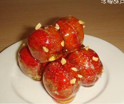 冰糖葫芦的做法 冰糖葫芦怎么做好吃 木棉分享的冰糖葫芦...