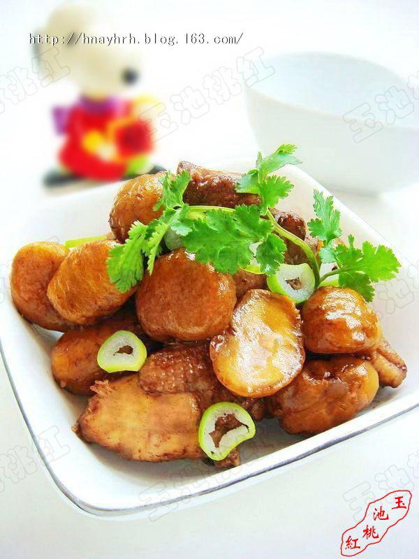 栗子焖鸡块的做法 栗子焖鸡块的家常做法 栗子焖鸡块的做...