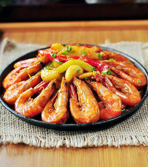 香辣虾的做法 香辣虾怎么做好吃 家常美食分享的香辣虾的...
