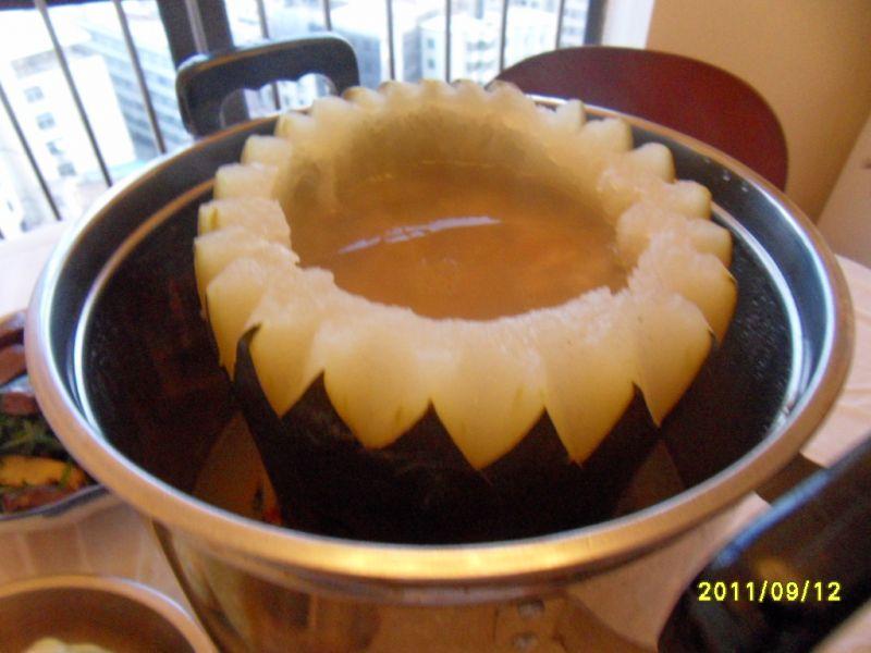 冬瓜盅的做法 冬瓜盅的家常做法 冬瓜盅的做法大全