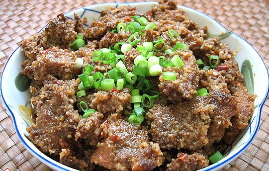 粉蒸肉的做法 粉蒸肉的家常做法 粉蒸肉的做法大全