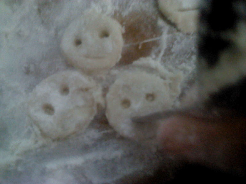 用土豆做动物造型
