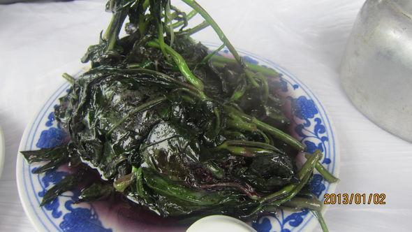 韭菜庖蛋,月亮湾