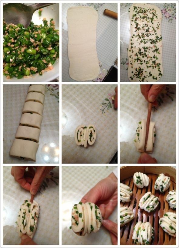 花卷的步骤图_蘑菇一只的美食日记