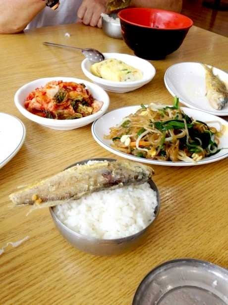 韩国京畿道富川市菜谱