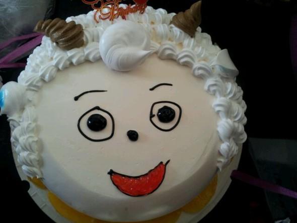 喜羊羊蛋糕_clazzy的美食日记