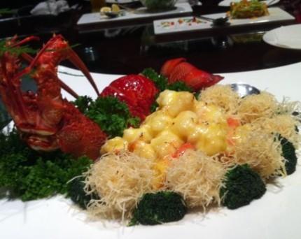 青芥海螺配巴西海蜇图片