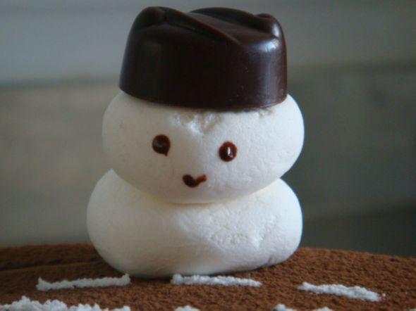 棉花糖雪人