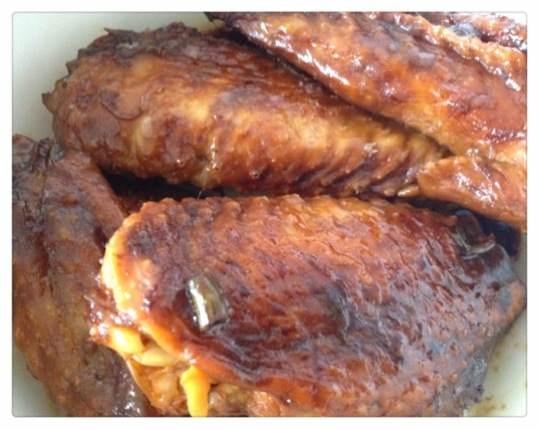 红烧鸡翅膀_青秧liuxiaoshu的美食日记