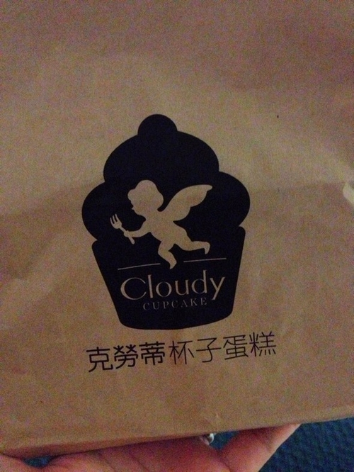 包装袋子,可爱的小天使标志