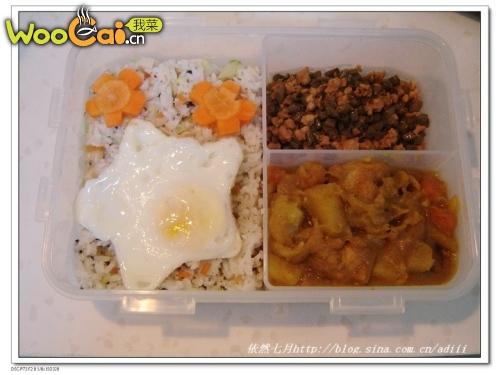 DIY饭盒之旅-午餐饭盒001的做法_DIY饭盒之旅