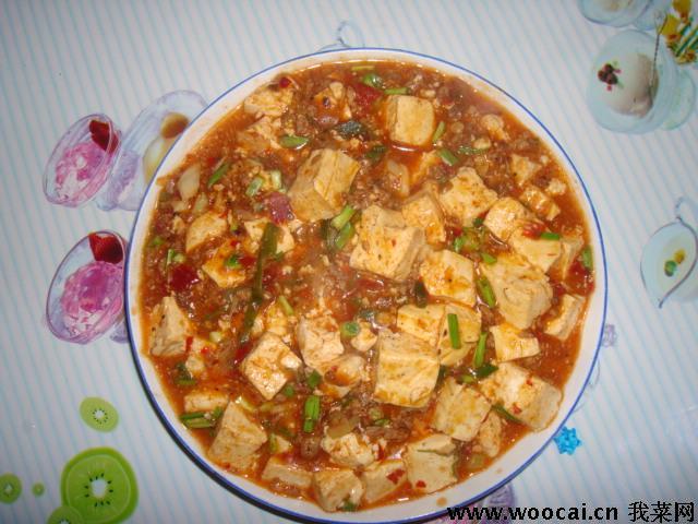 麻婆豆腐的做法 麻婆豆腐怎么做好吃 jessica099分享的麻婆...