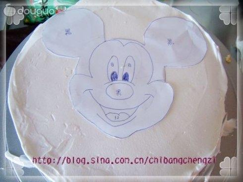 可爱米奇蛋糕的做法图解2