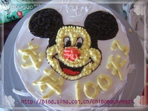 可爱米奇蛋糕的做法图解5