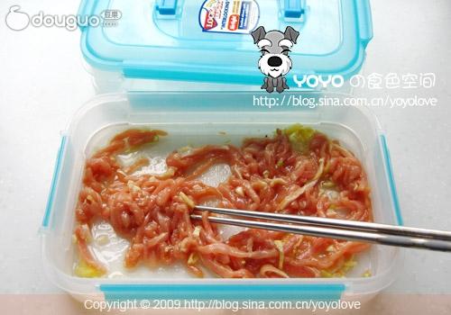 鱼香肉丝的做法 鱼香肉丝怎么做好吃 YOYO食色空间分享的...