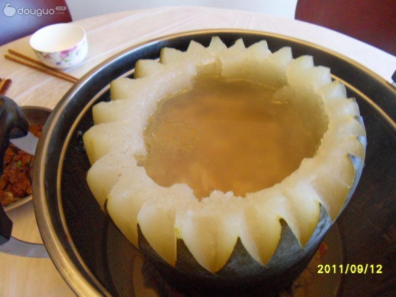 冬瓜盅的做法 冬瓜盅怎么做好吃 花师奶分享的冬瓜盅的家...